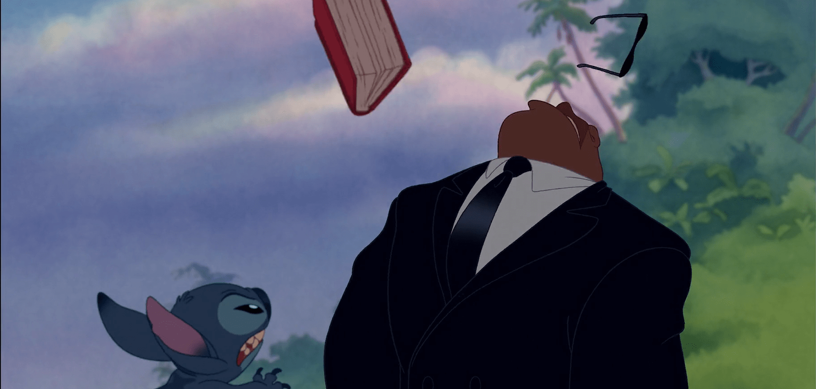 スティッチ、Hit The Booksってそういう意味じゃないよ!